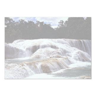 Cachoeiras de Azul da água, estado de Chiapas, Convite