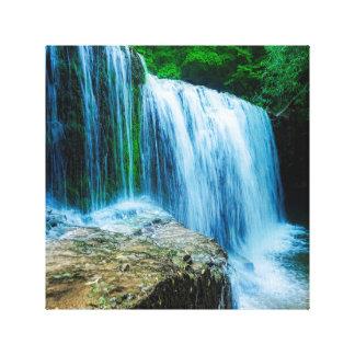 cachoeiras impressão em tela
