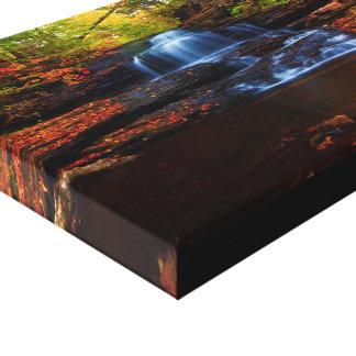 Cachoeiras Impressão De Canvas Envolvidas