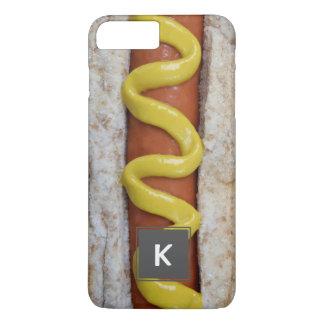 cachorro quente delicioso com fotografia da capa iPhone 7 plus