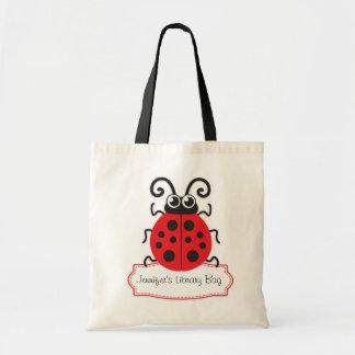 Caçoa o saco vermelho bonito da biblioteca do joan sacola tote budget