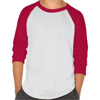 Caçoa t-shirt do basebol para o nome personalizado