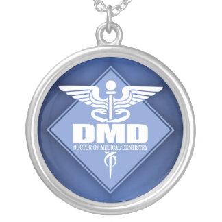 Cad DMD (diamante) Colar Banhado A Prata