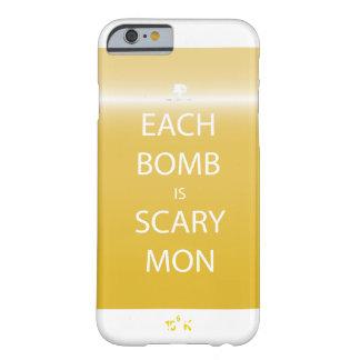 Cada bomba é capas de iphone assustadores de