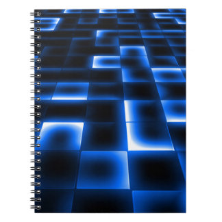 Caderno Almofada de aterragem do UFO de Sci Fi