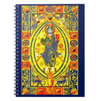 Caderno Arte popular bizantina Jesus
