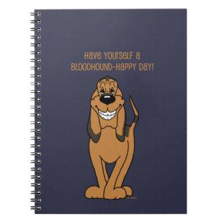 Caderno Bloodhound Smile