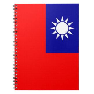 Caderno com a bandeira de Formosa