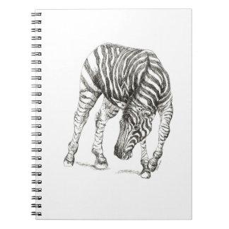 Caderno da zebra