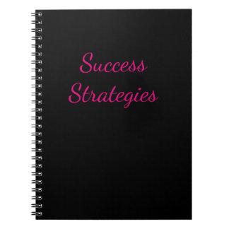Caderno das estratégias do sucesso