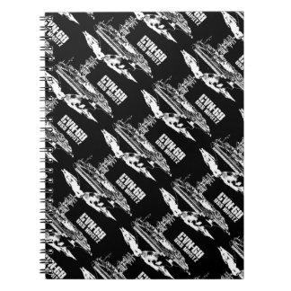 Caderno de Nimitz Fuji do porta-aviões