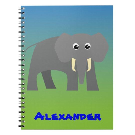 Caderno do elefante