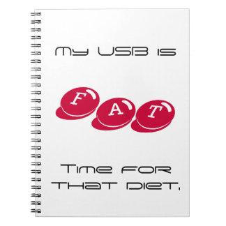Caderno do FAT USB