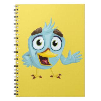 Caderno do pássaro