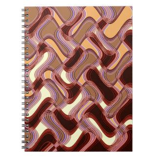 Caderno do porto & do pêssego pelo artista C.L.