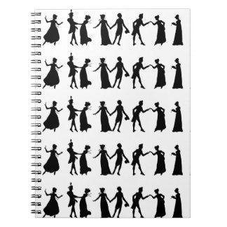 Caderno dos dançarinos da regência