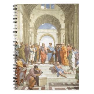 Caderno Espiral A escola de Atenas