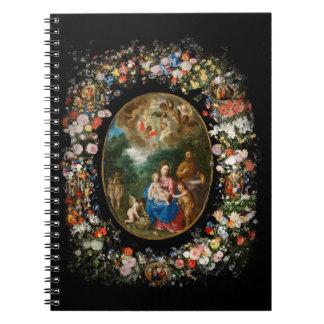 Caderno Espiral Anjos que oferecem presentes