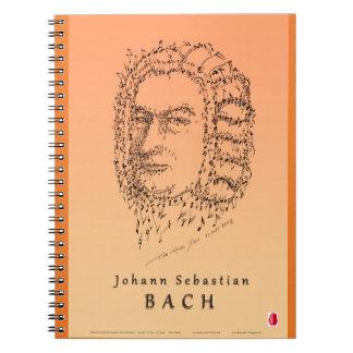 Caderno Espiral Bach: Enfrente a música