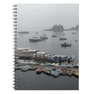Caderno Espiral Barcos do porto