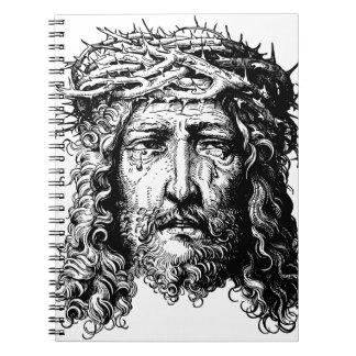 Caderno Espiral Cabeça do Jesus Cristo