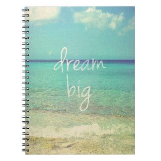 Caderno Espiral Grande ideal