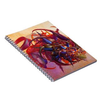 Caderno Espiral Inseto da ficção científica