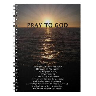 Caderno Espiral Nossa oração do pai