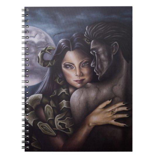 Caderno Espiral Notebook O feitiço de Medusa