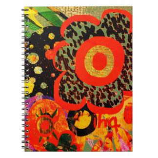 Caderno Espiral objeto ines de andrade