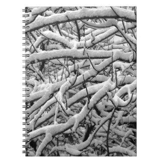 Caderno Espiral Ramos nevado