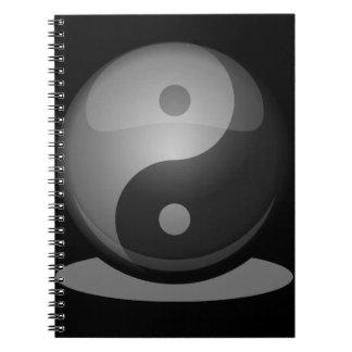 Caderno Espiral Yin yang