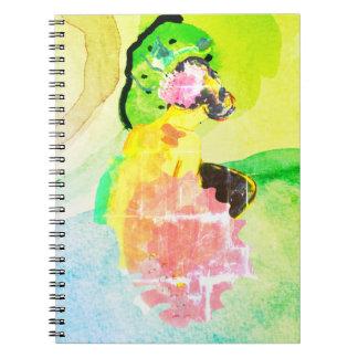 Caderno objeto ines de andrade