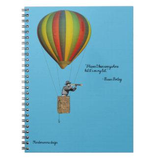 Caderno para povos de viagem