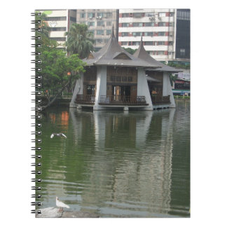 Caderno Parque de Taichung