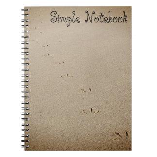Caderno Pegadas do pássaro