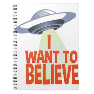 Caderno Queira acreditar
