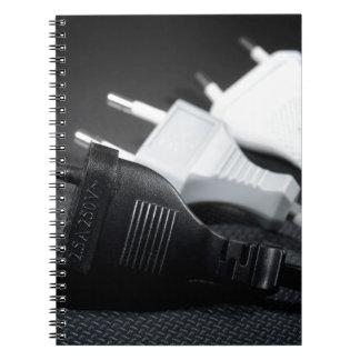 Caderno Três tomadas