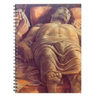 Cadernos ANDREA MANTEGNA - lamento do cristo 1480