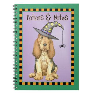 Cadernos Bruxa do Bloodhound