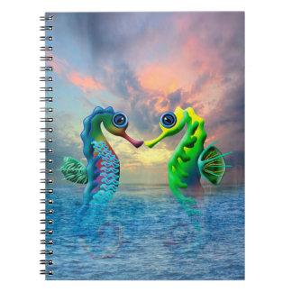 Cadernos Cavalos marinhos