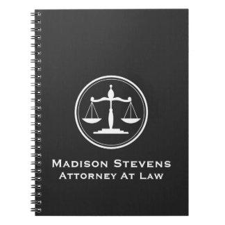 Cadernos Escalas de justiça do advogado do advogado