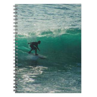 Cadernos Espirais aperfeiçoe a onda