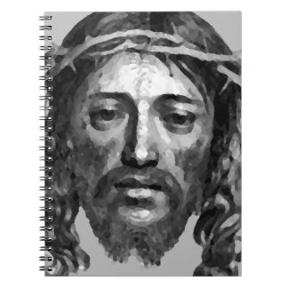 Cadernos Espirais Arte do cristão das messias do Th do Jesus Cristo