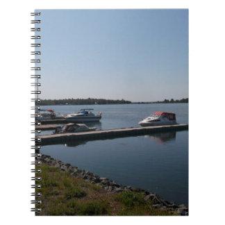 Cadernos Espirais Barcos