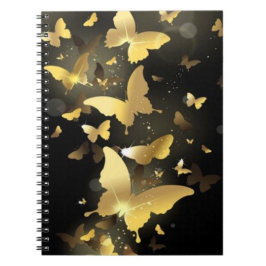 Cadernos Espirais Borboletas