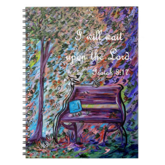 Cadernos Espirais Eu esperarei em cima do senhor