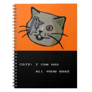 Cadernos Espirais Eu posso tenho toda sua base?