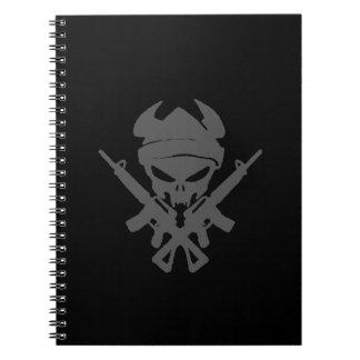 Cadernos Espirais Guerreiro de Viking