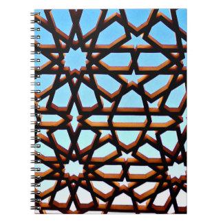 Cadernos Espirais Porta do ferro